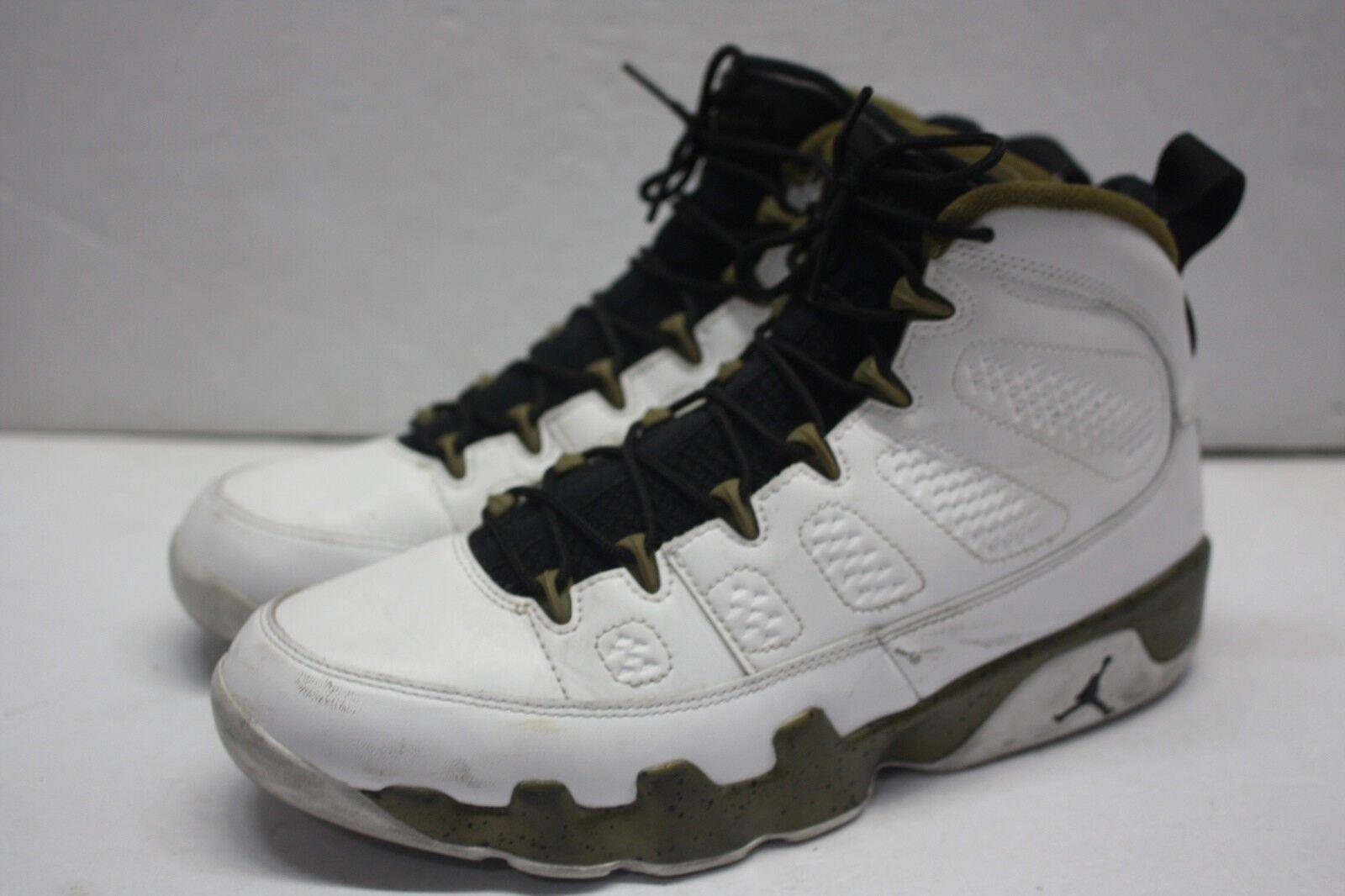 06e3c86b112 ... Nike Air Jordan Retro IX 9 MILITIA GREEN Statue Statue Statue Spirit Copper  302370-109 ...