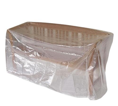 Abdeckplane Abdeckhaube Schutzhülle Gartenmöbel Tisch Bank rechteckig 160x75cm