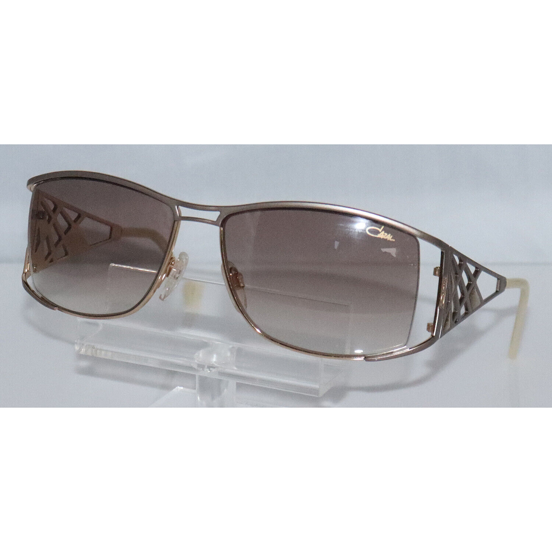New Women's Cazal 9016 003 Matte Gray & Gold Sunglasses
