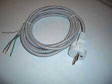 Bügeleisenkabel Bügeleisenschnur Ersatzkabel Kabel 3m für Bügeleisen Universal