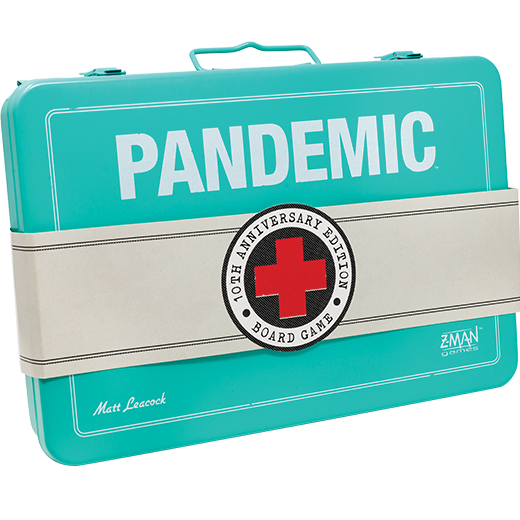 Pandémie 10th Anniversary Box Board Game