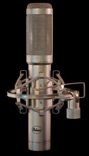 Peluso TR-14 Vacuum Tube Ribbon Microphone Mic w Flight Case   Atlas Pro Audio