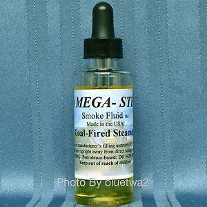 Mega-Steam-COAL-FIRED-STEAMER-Smoke-Fluid-For-Lionel-O-G-O27-HO-N-Gauge-Signal
