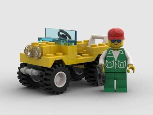 1994 LEGO Classic Town 6514 Trail Ranger Vintage USED