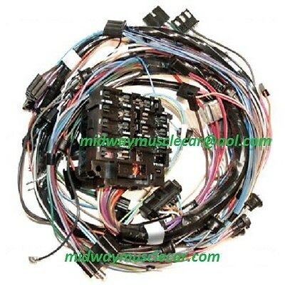 for cars with Factory A//C 63 Corvette Engine Wiring Harness NEW