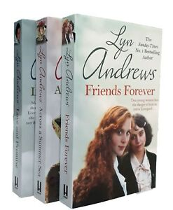 Lyn-Andrews-3-Books-Liverpool-Saga-Love-and-Promise-Friends-Forever-Plus-1-New