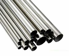 Stainless steel (304)Tube from 3mm up to 20mm diam. in various Lengths