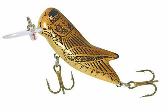 Rebel Crickhopper 3//32 oz Fishing Lure Brown Cricket