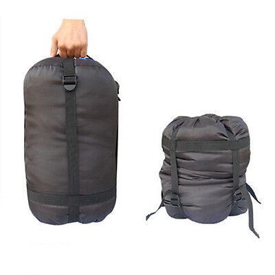 Compression Nylon Stuff Sack Bag for Sleeping Bag Outdoor Travel Camping Hiking