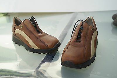 bequeme Markus RIEKER Damen Schuhe Halbschuhe Leder Gr.36 braun TOP #8 | eBay