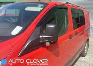Auto-Clover-Wind-Deflectors-Set-for-Ford-Transit-Custom-2012-2-pieces