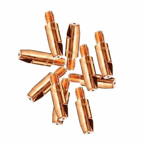 10 X 0.8mm Mig Euro Torch Contact Tips For MB15 MB25 MB36 Welding 10 Pack