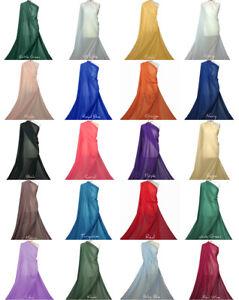 Premium-Qualita-in-chiffon-morbido-tessuto-di-poliestere-velato-abito-da-sposa-materiale-ch01