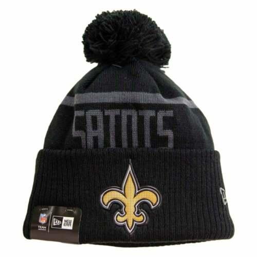 New Era NFL New Orleans Saints BC Cuffed Pom Knit
