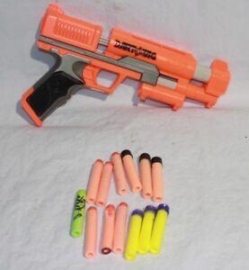 NERF Gun N-strike 3 Darts Reflex Ix-1 A7996 Blue Orange Stealth Blaster