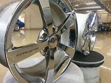OEM FACTORY GM CHEROLET CORVETTE C5 C6 C7 Z06 ZR1 CHROME WHEELS