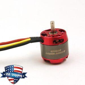 Gforce E400 2830 2400kv Brushless Outrunner Motor For Rc