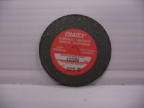 GW047-D-5 CRATEX 2x1//8x1//4 202-C Rubberized Abrasive Wheels 5 Pc