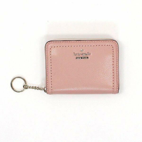 * TEST Dani Patterson Wallet Dusty Rose Pink Leather WLRU5274 NWT FS