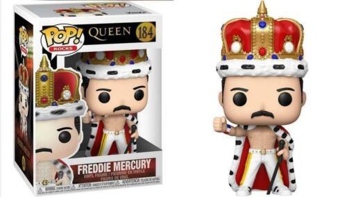 KING FREDDIE MERCURY PRESALE 2021 Funko Pop ROCKS QUEEN