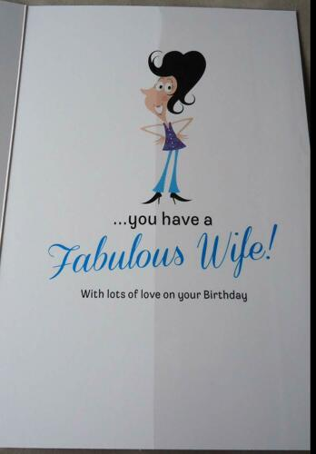 FANTASTIC FUNNY YOU HAVE CHARM STYLE WIT HUSBAND BIRTHDAY GREETING CARD