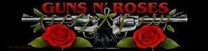 Guns-n-Roses-Stripe-Aufnaeher-Gun-Logo-GNR-Logo-SS183-Guns-n-Roses-Patch-laenglich