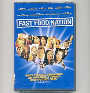 Fast Food Nation new DVD 2006 movie Arquette Guzmán Hawke Johnson Kinnear Moreno