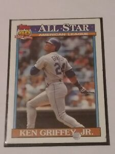 1130b8e8fd Image is loading 1991-Topps-All-Star-Ken-Griffey-Jr-392