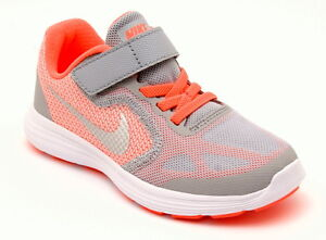 a46e8485630 Nike Revolution 3 Td Psv Girl's Shoes Girl Woman Sports Canvas ...