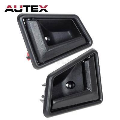 Black Front Rear Interior Door Handle Pair 8313056B015ES NEW for Suzuki Sidekick Geo Tracker 1991-1998