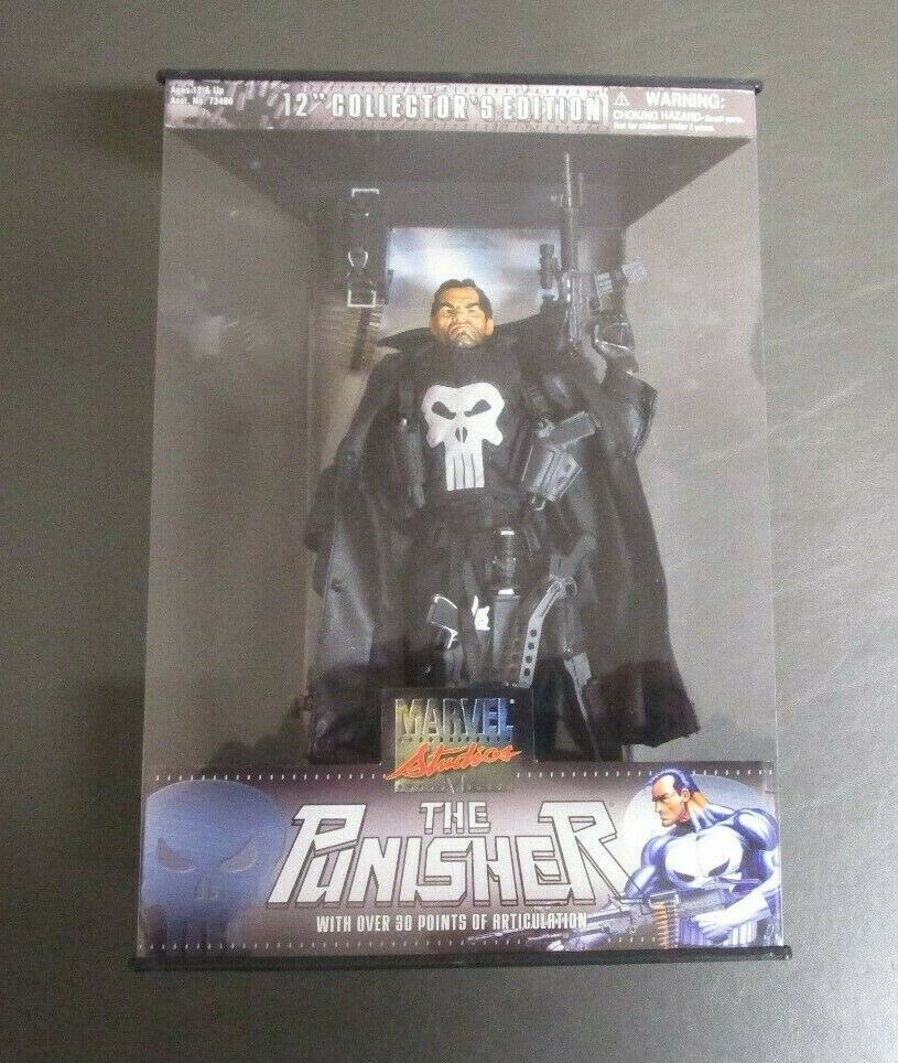 The Punisher 12  2002 MARVEL STUDIOUS Collector's Edition Toy Biz MIB GV