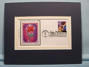 Walt-Disney-039-s-Beauty-amp-the-Beast-and-First-Day-Cover-of-its-own-stamp