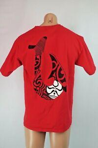 Vtg-90s-HAWAIIAN-ISLAND-CREATIONS-T-SHIRT-HIC-SURFER-Surf-Red-Logo-T-Shirt-L