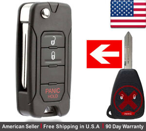 Details about 1x New Replacement Keyless Entry Remote Control Key Fob For  Chrysler Dodge Jeep