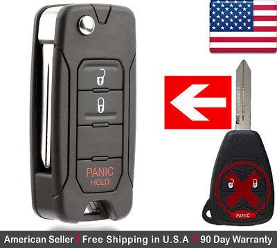 Fits 2004-2011 Dodge Dakota Keyless Entry Remote Car Key Fob OHT692427AA