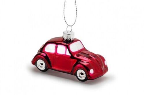 Genuine Volkswagen Beetle Christmas Red Bauble 18D087790A