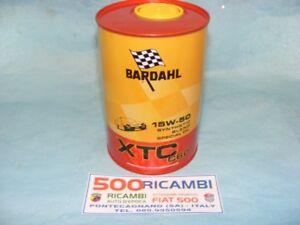 FIAT-500-F-L-R-126-1Lt-OLIO-MOTORE-BARDAHL-SPECIALE-XTC-C60-15W50-SINTETICO-AUTO