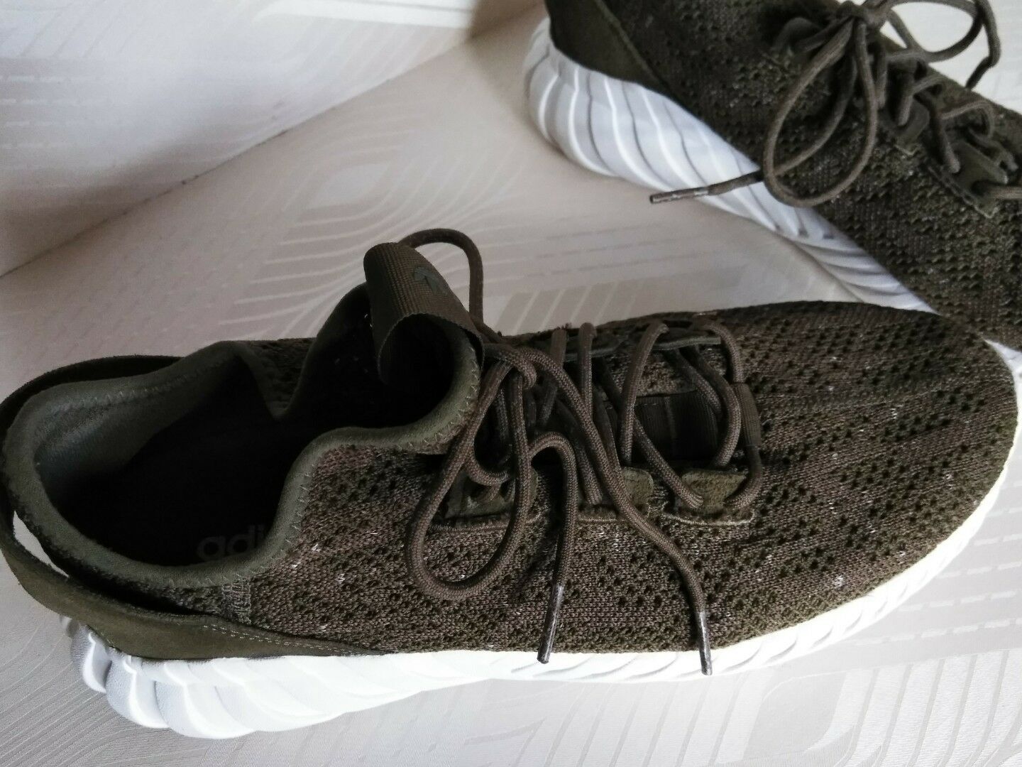 the best attitude 6670e 8de45 ... Adidas Tubular Doom Sock Trace Olive Olive Olive Green SIZE 12 27  d0ee2a ...