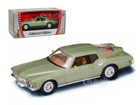 1971 Buick Riviera Gs Green 1/43 Diecast Model Car By Road Signature 94252
