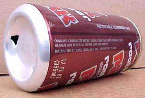 ILLINOIS circa 1985 PARK ROOT BEER Soda CAN Jewel Companies Inc. Barrington
