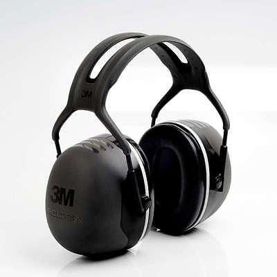PELTOR 3M X5A Kapsel Gehörschutz Gehörschutzkapsel Neu (SNR=37 dB)  #23287