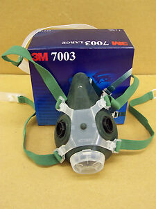 3M 7000 series half mask 7002 face size Medium Rubber Face Piece ... aec0f4f42e