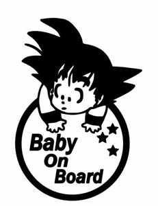 BACK THE F UP Car Sticker Car Decal Baby On Board
