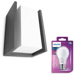 Philips-MyGarden-LED-Aluminium-Wandleuchte-Aussenlampe-anthrazit-16531-93LED