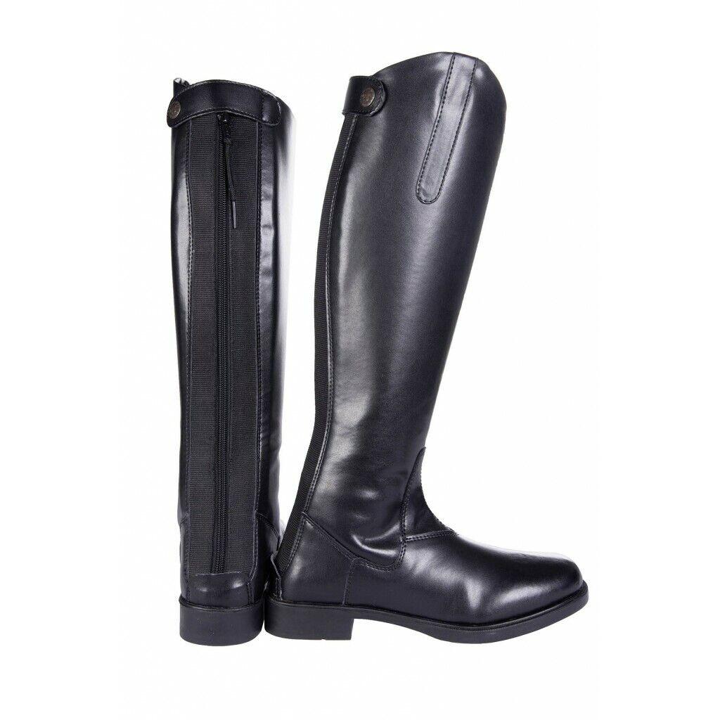 REITSTIEFEL 37-42 SCHAFT lang     Reißverschluß Synthetikleder schlanker Fuß