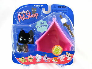 BNIB-LITTLEST-PET-SHOP-DOG-WITH-MARSHMALLOW-AND-HOUSE-315