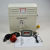 9KW STEAM GENERATOR WITH ST-135M CONTROLLER FOR HOME SPA SHOWER SAUNA BATH NEW