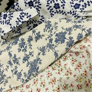 Tablecloths-Tabel-Cover-Background-Picnic-Kitchen-Cloth-Floral-Cotton-Linen-Home