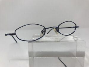 15863e9b88c Image is loading Microstyle-Eyeglasses-41-21-Blue-3142