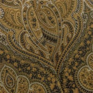 Details about Golden/Multi Paisley Jacquard Home Decorating Fabric, Fabric  By The Yard